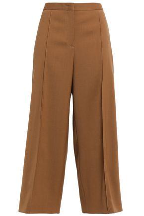 JIL SANDER Wool-crepe culottes