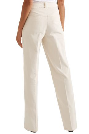 HELMUT LANG Cotton-corduroy straight-leg pants