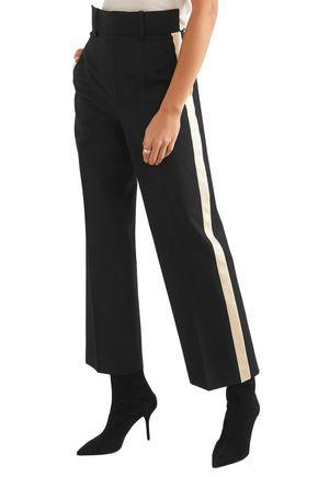 HELMUT LANG Striped woven straight-leg pants