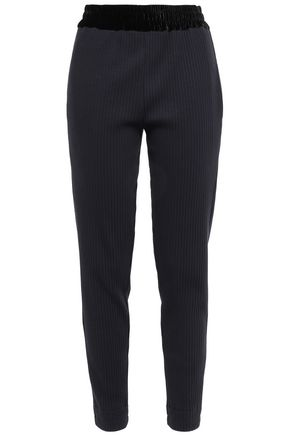 FORTE_FORTE Ribbed cotton-jersey slim-leg pants