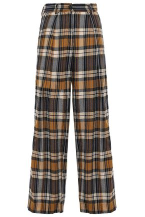 FORTE_FORTE Wool wide-leg pants