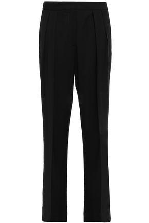 FORTE_FORTE Crepe straight-leg pants