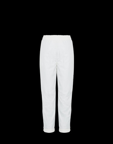 CASUAL TROUSER White Category Casual trousers Woman