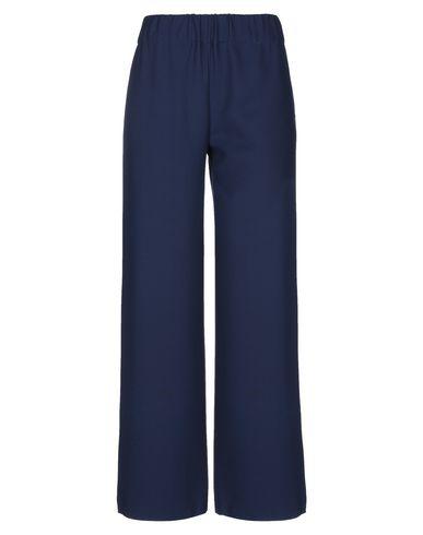 Фото - Повседневные брюки от MOMONÍ темно-синего цвета