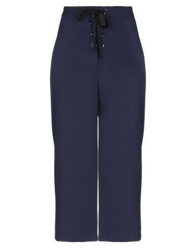 Фото - Повседневные брюки от ENGLISH FACTORY темно-синего цвета