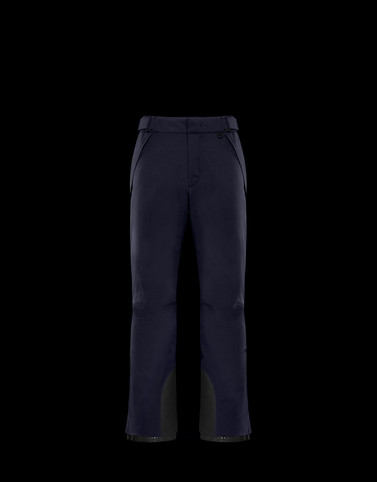 CASUAL TROUSER Dark blue Category Casual trousers