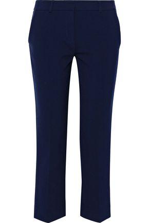 DIANE VON FURSTENBERG Tami cropped crepe straight-leg pants