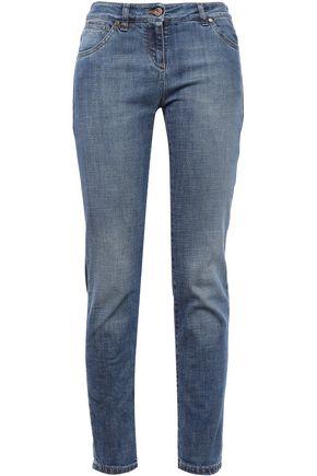 BRUNELLO CUCINELLI Low-rise slim-leg jeans