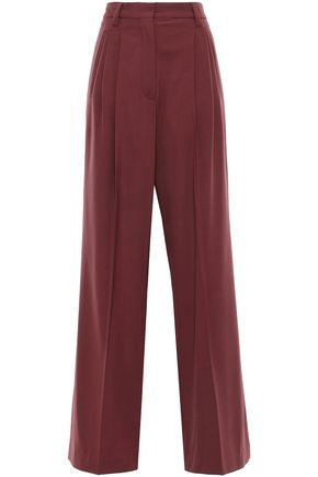BRUNELLO CUCINELLI Stretch-wool wide-leg pants