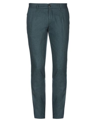 Фото - Повседневные брюки от WOOL 172 зеленого цвета