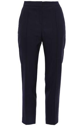 BY MALENE BIRGER Wool-blend twill slim-leg pants
