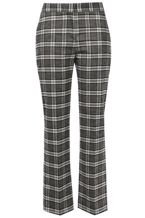 MAJE Tweed straight-leg pants