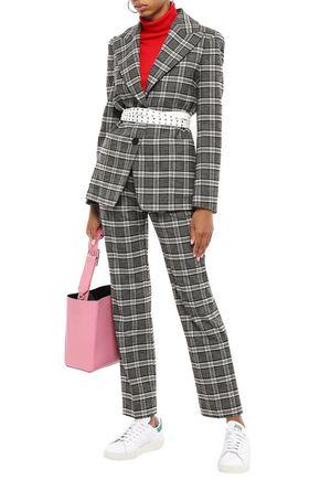 MAJE Tweed straight-leg pants