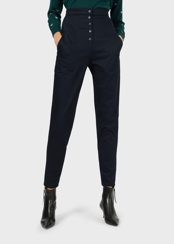 Emporio Armani Casual Pants - Item 13377574 In Blue