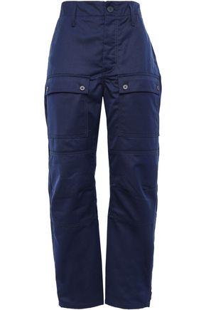 MAJE Twill straight-leg pants