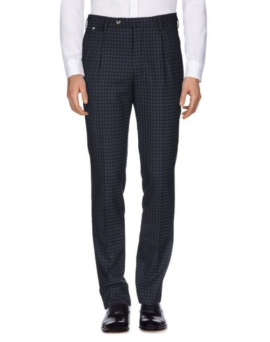 Фото 2 - Повседневные брюки от PT01 темно-синего цвета