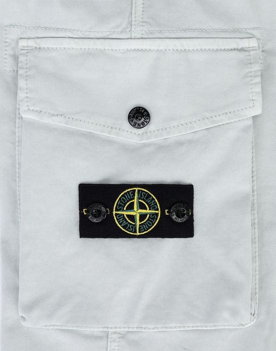 13378135gk - PANTS - 5 POCKETS STONE ISLAND JUNIOR