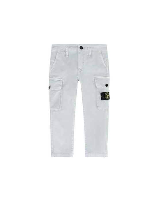 Pants 30312 'OLD' DYE TREATMENT  STONE ISLAND JUNIOR - 0
