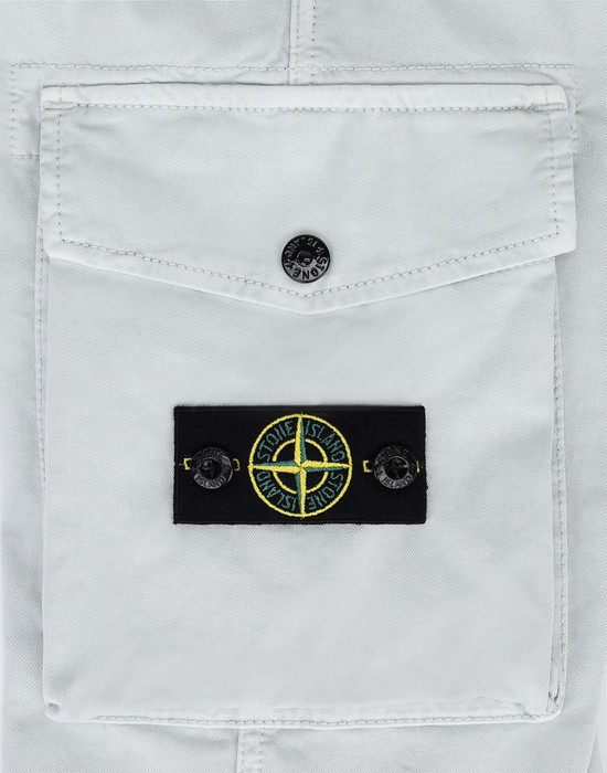 13378141lc - PANTS - 5 POCKETS STONE ISLAND JUNIOR