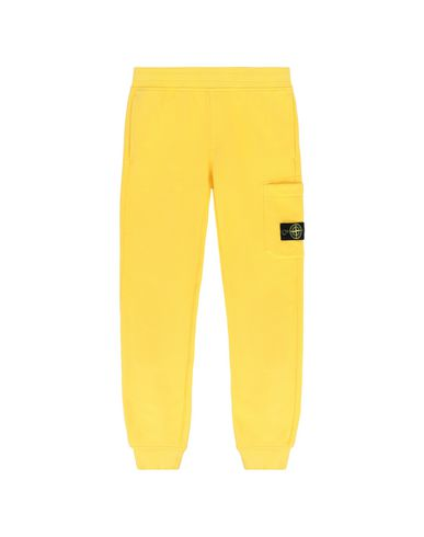 STONE ISLAND JUNIOR Fleece Trousers Man 60840 f