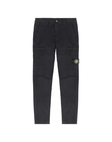STONE ISLAND JUNIOR Trousers Man 30111 f