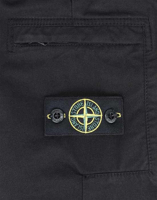 13378147ib - PANTS - 5 POCKETS STONE ISLAND JUNIOR