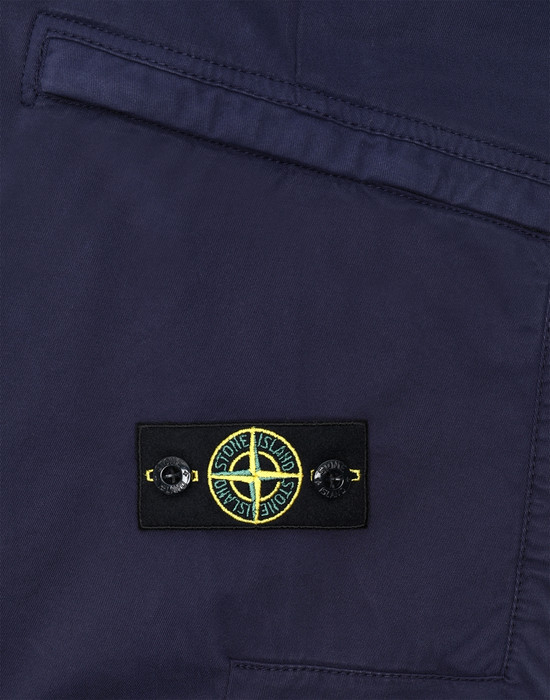 13378147ur - TROUSERS - 5 POCKETS STONE ISLAND JUNIOR