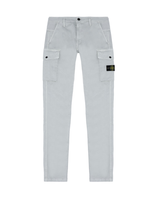 Trousers 30312 OLD DYE TREATMENT STONE ISLAND JUNIOR - 0