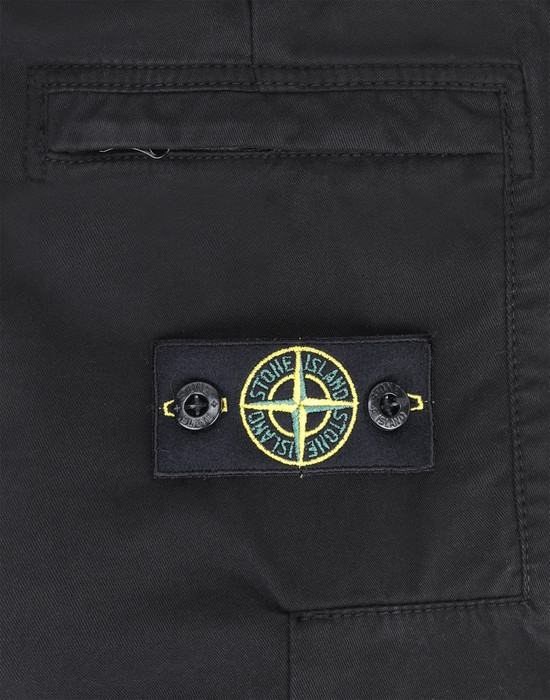 13378179qe - TROUSERS - 5 POCKETS STONE ISLAND JUNIOR