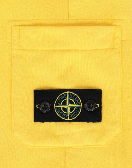 13378182ao - PANTS - 5 POCKETS STONE ISLAND JUNIOR
