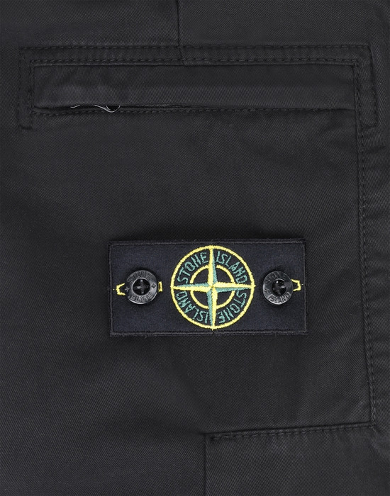 13378188bw - PANTS - 5 POCKETS STONE ISLAND JUNIOR