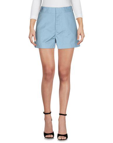 Фото 2 - Повседневные шорты от CARHARTT пастельно-синего цвета