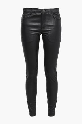MUUBAA Bandit stretch-leather skinny pants