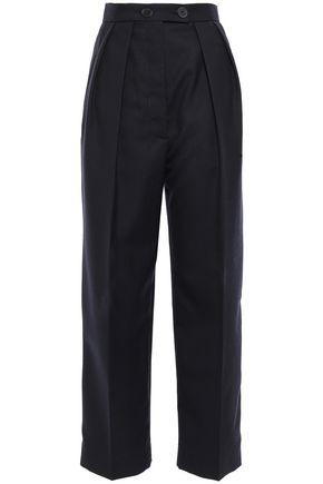 SANDRO Woven straight-leg pants