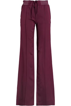 IRIS & INK Luca crepe de chine straight leg pants