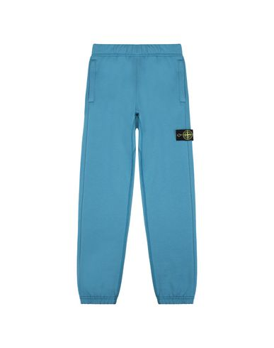 STONE ISLAND JUNIOR Fleece Trousers Man 61544  f