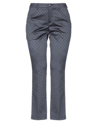 Фото - Повседневные брюки от PT01 грифельно-синего цвета