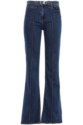 CURRENT/ELLIOTT Scorpio high-rise flared jeans