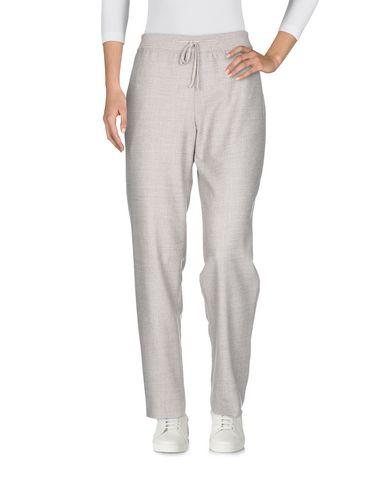 Фото 2 - Повседневные брюки от QL2  QUELLEDUE светло-серого цвета