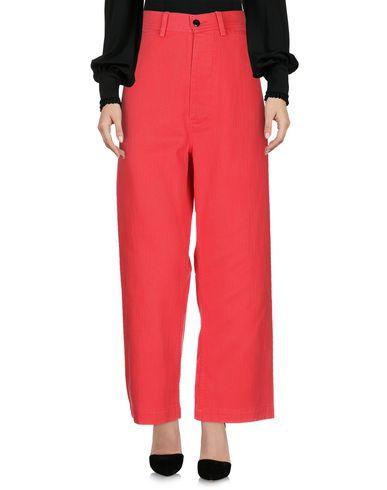 Фото 2 - Повседневные брюки от BELLEROSE красного цвета