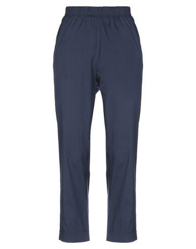 Фото - Повседневные брюки от ROSSO35 темно-синего цвета