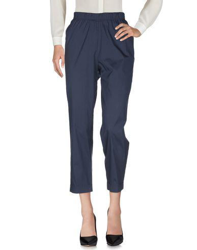 Фото 2 - Повседневные брюки от ROSSO35 темно-синего цвета