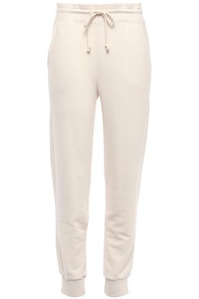 VINCE. French cotton-terry track pants