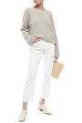 VINCE. High-rise kick-flare jeans