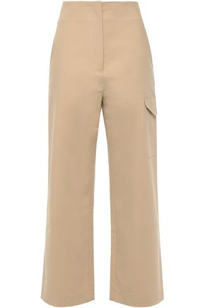 NANUSHKA Stretch-cotton straight-leg pants