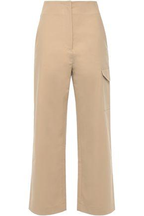 NANUSHKA Stretch-cotton straight-leg pants