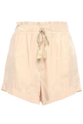 NANUSHKA Lorraro tasseled jacquard shorts