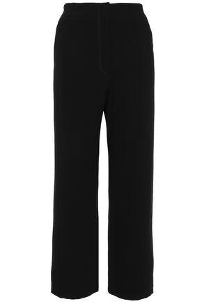 NANUSHKA Varsa satin-crepe wide-leg pants