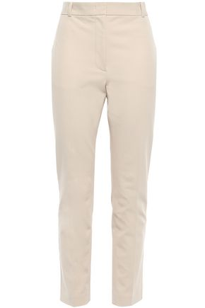 JOSEPH Zoom cropped stretch-twill slim-leg pants