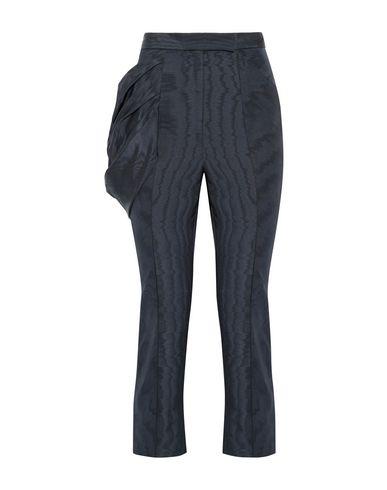 Фото - Повседневные брюки от ROSIE ASSOULIN темно-синего цвета